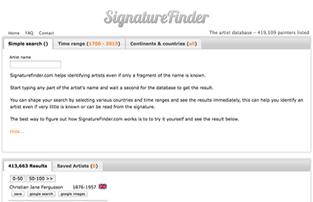 SignatureFinder.com